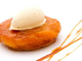 マンゴーのうま味たっぷり「タルト タタン オ マング」