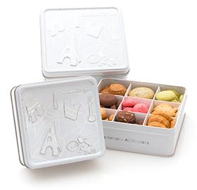 缶入りクッキー「コフレ アソーティモン ドゥ ビスキュイ」の入荷情報