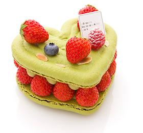 ホワイトデー限定!ハートのケーキ「パラディ クール」
